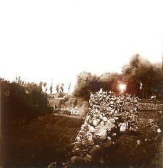 Prise de Bezonvaux par les troupes allemandes