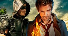'Constantine' May Return in 'Arrow' Season 4 -- Stephen Amell and producer Wendy Mericle are talking to DC about bringing John Constantine back for 'Arrow' Season 4. -- http://movieweb.com/arrow-season-4-constantine/