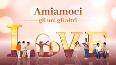 """Vivere l'amore """"Amiamoci gli uni gli altri"""" Seguire gli insegnamenti del... Character Shoes, Film, Canti, Multimedia, Watch, Youtube, Movie, Clock, Film Stock"""
