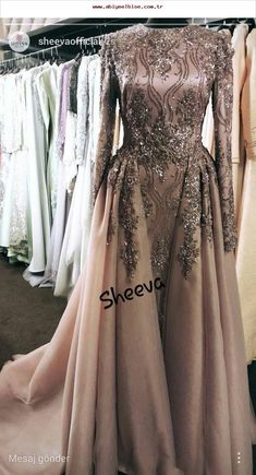 This could make a great hijabi wedding dress! In white of course 😛 This could make a great hijabi wedding dress! In white of course 😛 Hijabi Wedding, Muslim Wedding Dresses, Muslim Dress, Bridal Dresses, Prom Dresses, Formal Dresses, Muslim Fashion, Hijab Fashion, Fashion Dresses