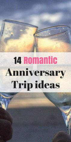 Get away with a Romantic holiday with these 14 amazing anniversary trip ideas. They are super fun.