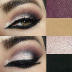 #makeup #make #olhos #delineado #maquiagem #cool #fashion