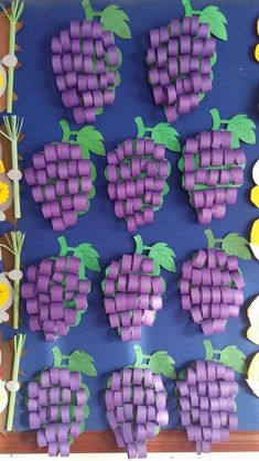 Paper crafts for kids simple paper dıy for kids crafts paper ideas Watermelon Crafts, Fruit Crafts, Paper Crafts For Kids, Diy And Crafts, Arts And Crafts, Creative Crafts, Diy Paper, Paper Crafting, Fruit Of The Spirit