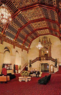 Biltmore Hotel, Los Angeles California, 90013