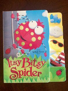 Charles Reasoner The Ittsy Bitsy Spider Hard Book