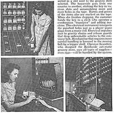 The Future That Never Was - Next-Gen Tech Concepts - Popular Mechanics  Automatic Stores ... You press a button and the conveyor brings it to the cashier