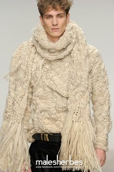 [ Fashion ] James Long AW2012 Please follow us on our FACKBOOK page, if you interested and also to know more about us and crochet, knitting, arts, fashion, movies and more… https://www.facebook.com/maisonmalesherbes/