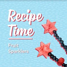 Light up this 4th of July with these fruit sparklers 🍉🍓 Bonus: kid-friendly, so the entire family can make them!