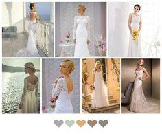 lace wedding dresses, real wedding photos on iBride