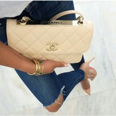 """You could obtain this chanel hand bag if you wanted to even if your working a minimum wage job, but where does that leave you after you saved and payed for it, yes thats right broke. Someone once told me """"I would rather be rich then look rich"""" wait till you have the money and resources to treat your self to this.WORK HARD,WORK SMART AND GET RICH"""