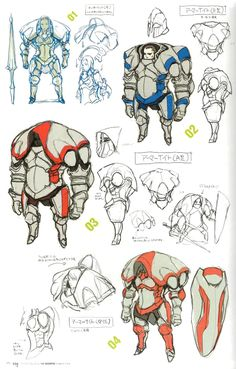"not mech lol but love the sketch art of the knight's class tho they look kinda funny in-game :P 3DS ""Fire Emblem: Awakening"""