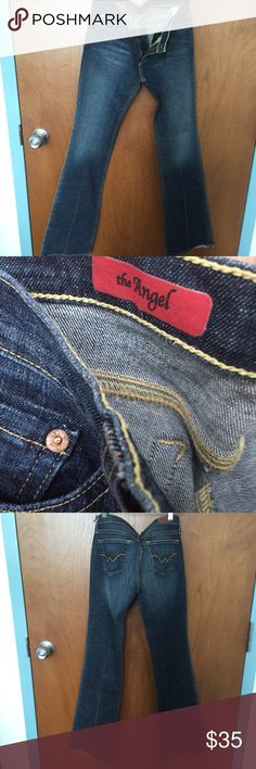 AG jeans . The angel . Never worn AG jeans . Never worn. darker wash . Perfect condition 27R AG Adriano Goldschmied Jeans Boot Cut