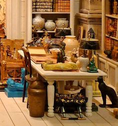 Doll Furniture European-style retro Roman Column B ~1//6 Scale Barbie Blythe