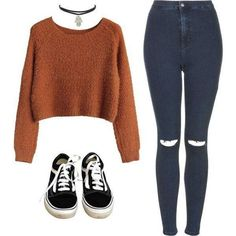 Cute outfits with sweaters for school or college in Winter - Cocomew is to share cute outfits and sweet funny things