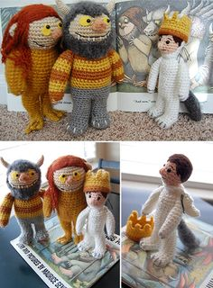 Wow! Where the wilds things are crochet :D