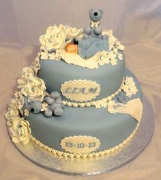 Dåpskake Amazing Cakes, Food And Drink, Pasta, Desserts, Tailgate Desserts, Deserts, Postres, Dessert, Plated Desserts