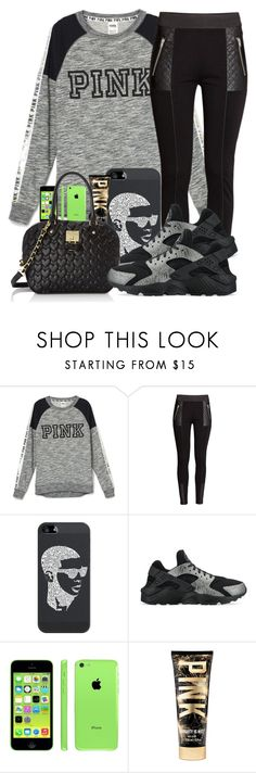 """""""Untitled #529"""" by chynaloggins ❤ liked on Polyvore featuring H&M, Casetify, NIKE, Apple and Betsey Johnson"""