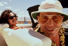 Fear And Loathing In Las Vegas as Raoul Duke, a journalist on the great American adventure (1998)