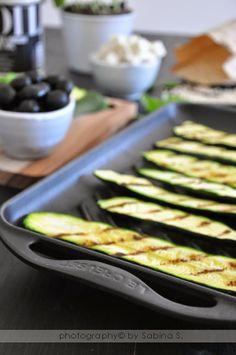 """Ricetta tratta dal blog di Sabina: """"http://duebiondeincucina.blogspot.it/ """" Griglia rettangolare in ghisa smaltata colore nero @Le Creuset Italia #food #grill #nero"""