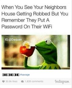 Funny quotes and memes – quotes and humor Funny Kermit Memes, Funny Animal Memes, Funny Quotes, Life Quotes Love, Badass Quotes, Humor Grafico, Awkward Moments, Laugh Out Loud, Funny Texts