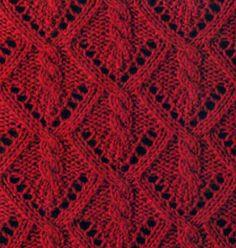 1124_Shema_uzora, los patrones Que Hacen Punto Con trenzas (Arana)