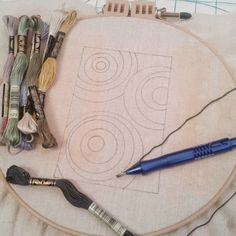 The Silly BooDilly: Punch Needle Embroidery