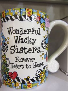 Sisters Mug £9.95