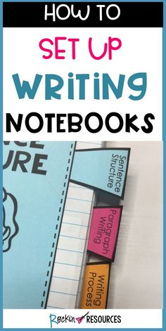 I've used writing notebooks for several years and have made changes along the way to find the best possible way to use them. This post will show how to set up your student notebooks to get them ready for a year of writing!