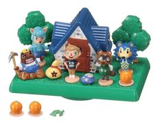 Amazon.com: Animal Crossing: New Leaf / Balance World Game Tom Nook(tanukichi) Set: Toys & Games
