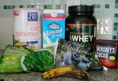 Chocolate Protein Breakfast Smoothie