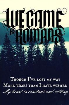 We Came As Romans writes amazing lyrics