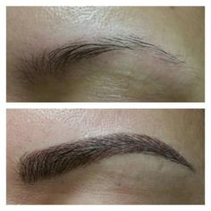 3D microblading hair stroke eyebrow tattoo - Yelp