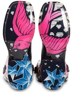 Cinch Edge Womens Stella Square Toe Cowgirl Boots - Black