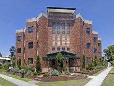 Coronet Flats Brunswick Street, New Farm Brunswick Street, New Farm, Art Deco Buildings, Grand Designs, Real Estate News, Art Deco Fashion, Brisbane, Open House, Design Art