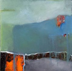 John McCaw, Misty Mountain mixed media