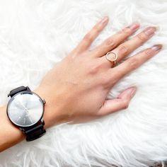 "Ring ""Cirkel"" zilver"