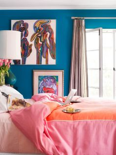 17 Gorgeous Wall Color Ideas | Design + Decorating | HGTV >> http://www.hgtv.com/design/decorating/color/17-paint-colors-that-totally-make-a-room-pictures?soc=pinterest