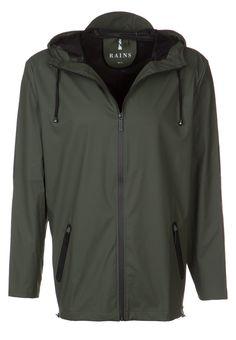 bestil Rains BREAKER - Regnjakke / vandafvisende jakker - green til kr 599,00 (25-11-16). Køb hos Zalando og få gratis levering.