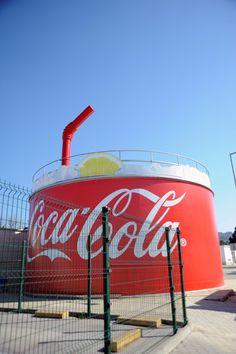 El vaso de coca cola más grande del mundo!!!!