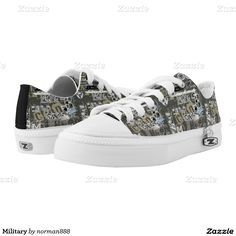 Military Printed Shoes