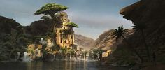 ArtStation - LiHanG Wang's submission on Ancient Civilizations: Lost & Found - Environment Design