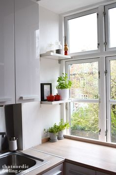 that nordic feeling kitchen