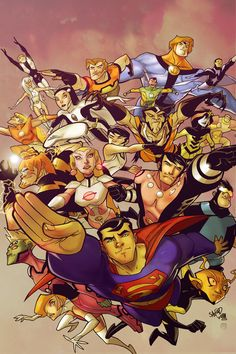 Superman & The Legion of Superheroes - Sanford Greene