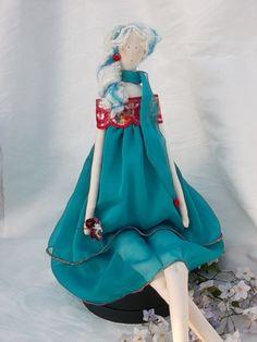 """POUPEE en chiffon, décoration, collection ....Poupée Pin'UP """"LUCY"""" : Accessoires de maison par paquita-14400"""