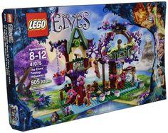 Amazon.com: LEGO Elves The Elves' Treetop Hideaway 41075: Toys & Games