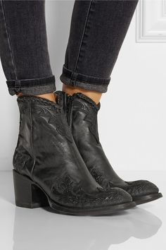 Mexicana  Black ankle boots