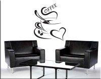 adesivo murale coffee bar