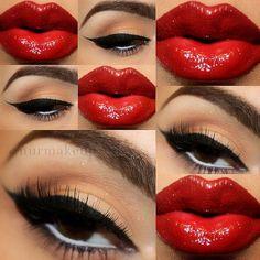 Pin Up Makeup!! @ nurmakeup