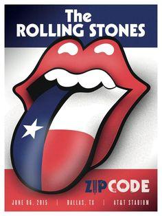 Zip Tour: Texas - The Rolling Stones 2015