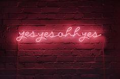 Neon Typography/Art Signs By | Karen Ay